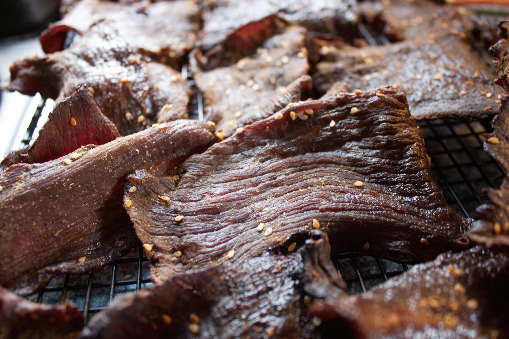Homemade Smoked Beef Jerky