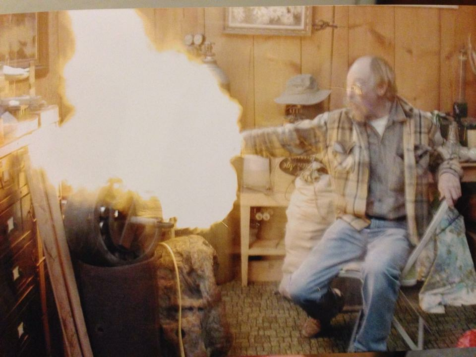 "Dad in ""Irons in the Fire"""