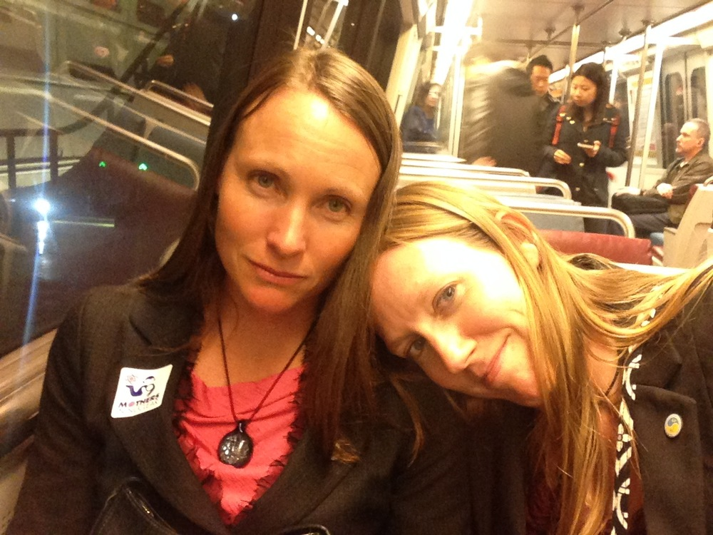Kristin and me after a long day urging members of Congress to save Diablo Canyon.