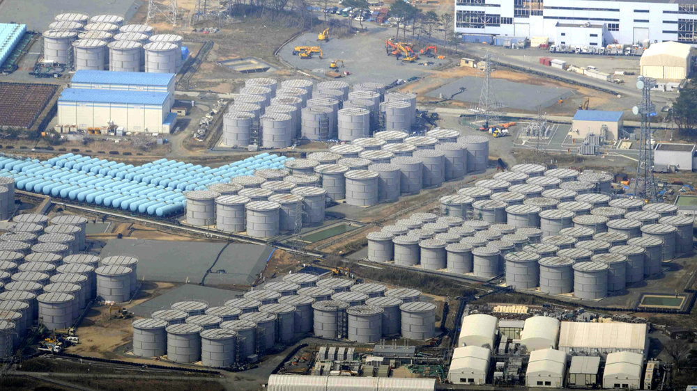 Tanks at Fukushima Dai-Ichi (Japan Daily Press, 2017)