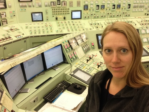 At the Reactor Operator controls, Diablo Canyon Unit 1