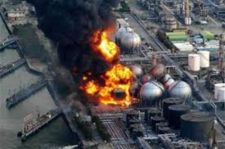 Natural Gas Plant, (Fukushima Google Images Search)