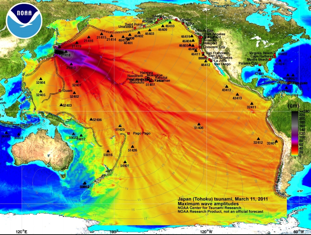 Tohoku Earthquake (NOAA, 2011)(3)