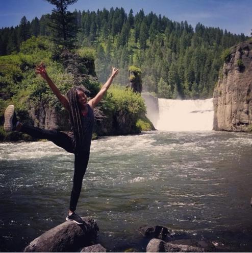 Enjoying the beauty of nature in Idaho
