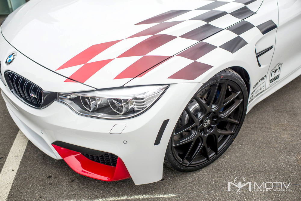 BMW M4  Motiv Wheels 409b Magellan