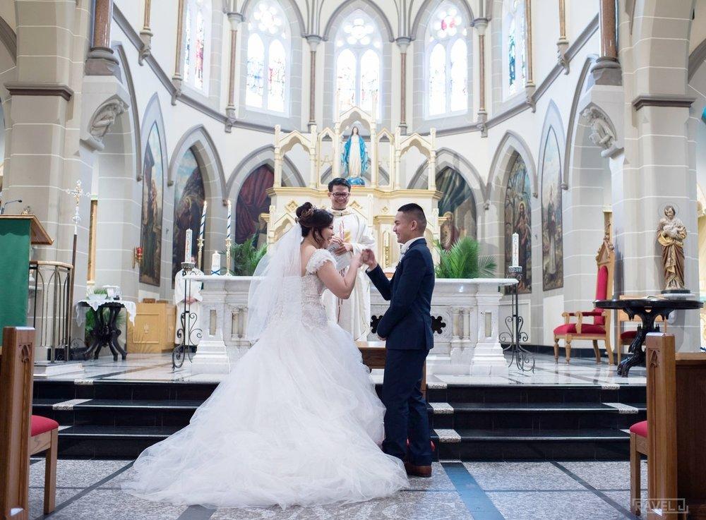 Dianne & Marvin Montecillo // Feb. 2017 // Wedding Ceremony Photographer: Ravel J Photo