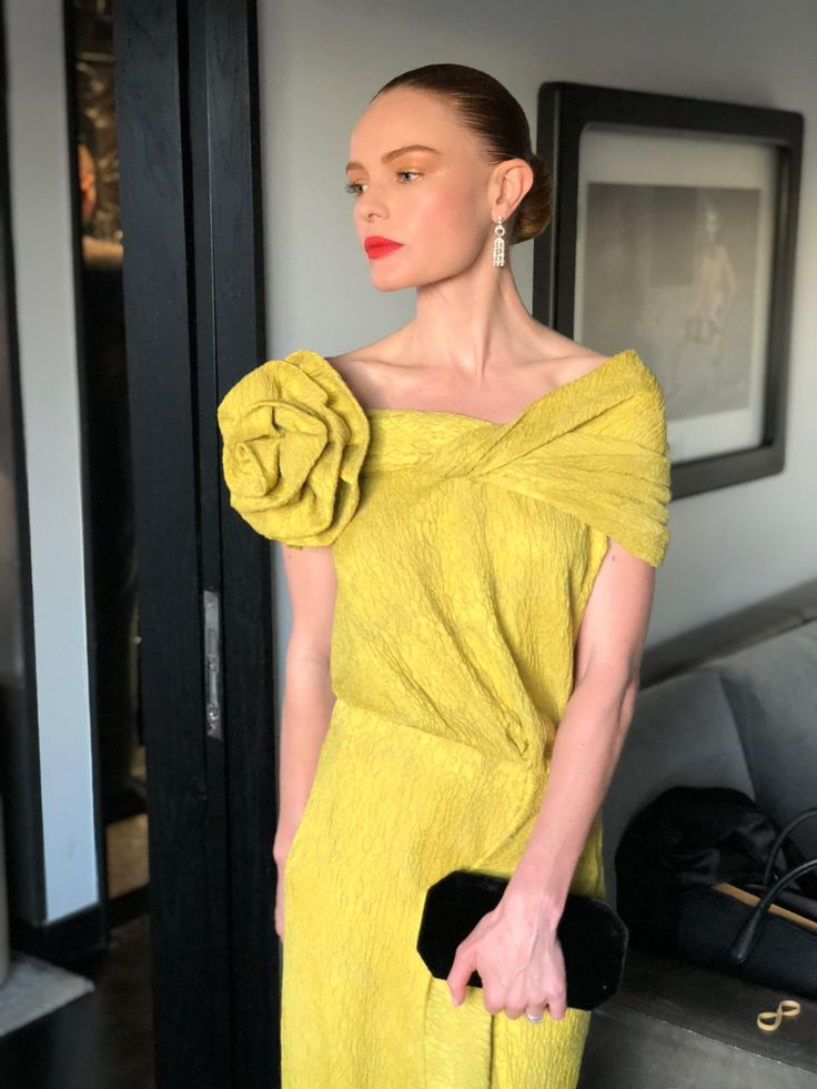 Kate Bosworth wearing Hellessy AW18 at the 2018 Oscars