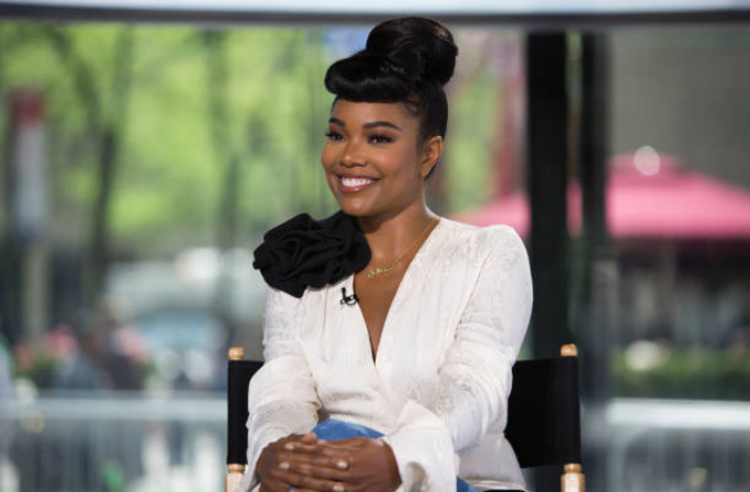 Gabrielle Union wearing the AW18 Cassie top and Jagger pant on the Today Show