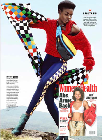 The Melody knit featured in Women's Health