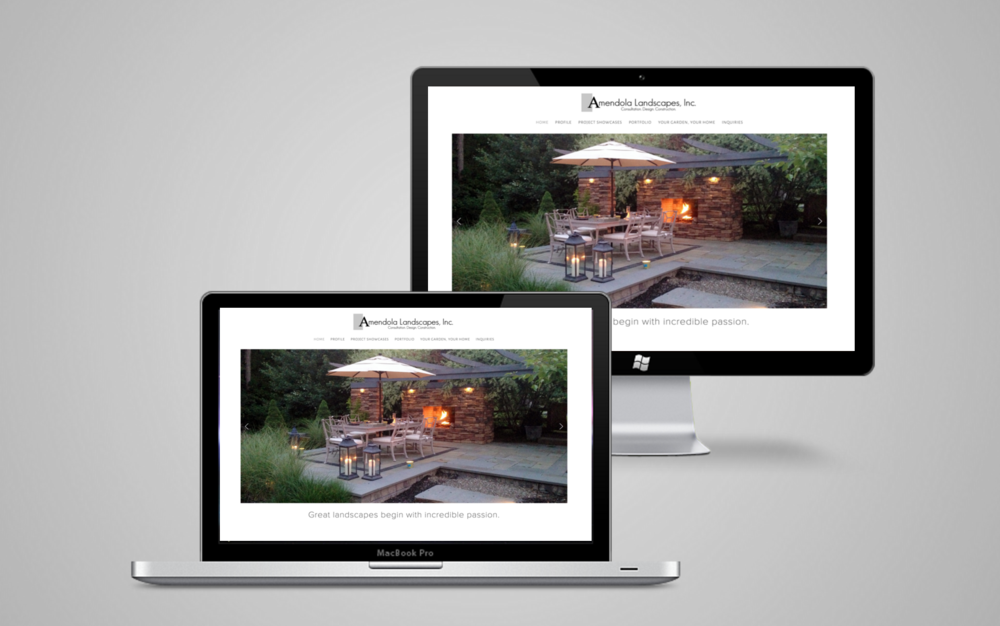 Website Design Case Study for Landscaper and Contractor in Westchester County, NY