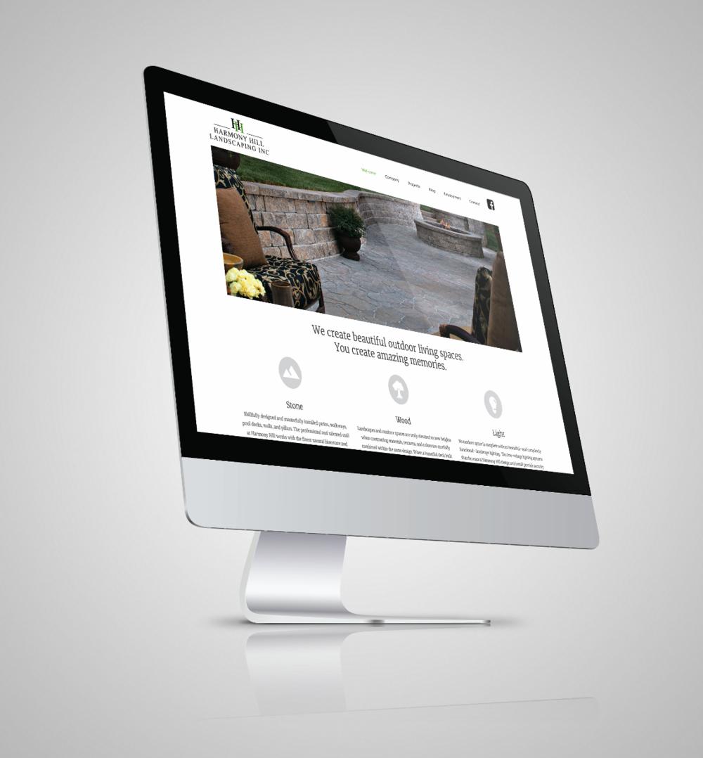 Landscaper website design and SEO. Contractor Marketing