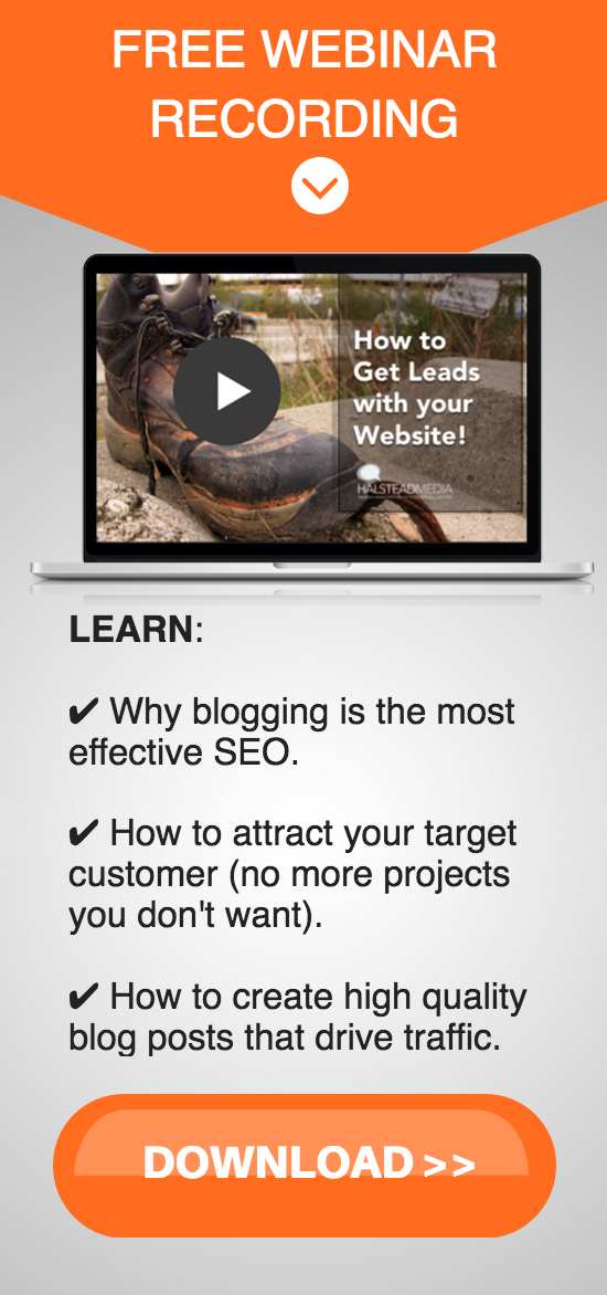 how to improve construction marketing with website and content marketing