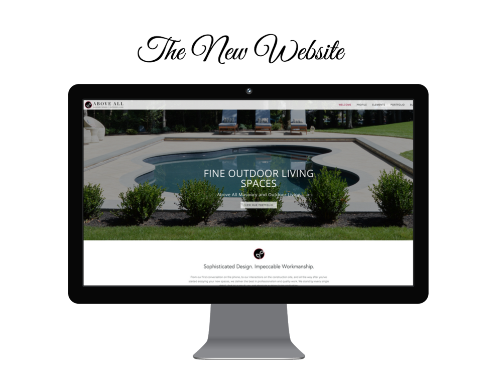 website redesign of a landscaping company in long island, ny - the after picturehttp://www.aboveallmasonry.com/http://www.aboveallmasonry.com/