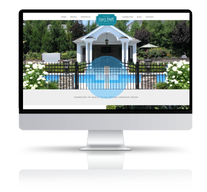 website redesign and marketing for long island, ny landscape design company