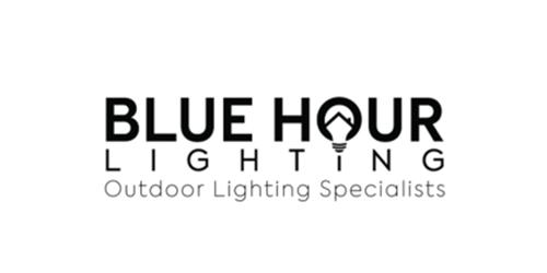Seo for landscapers, including Blue Hour Lighting