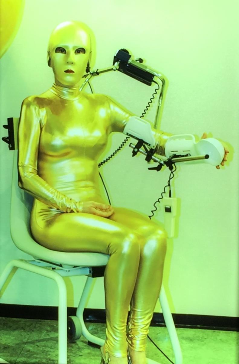 Selbstportrait in gold