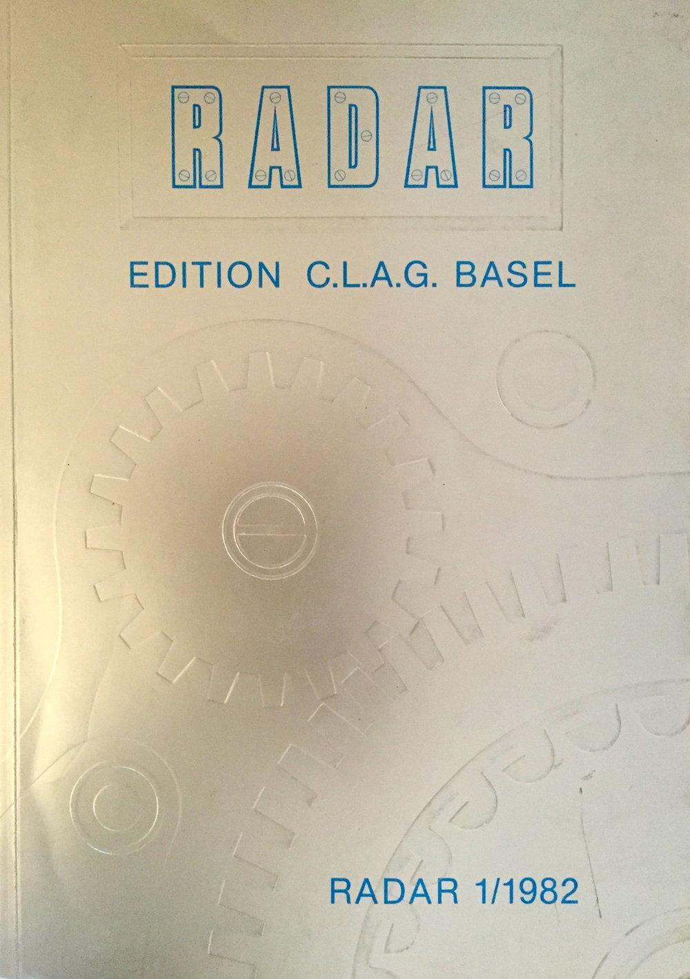 RADAR C.L.A.G. BASEL 1982