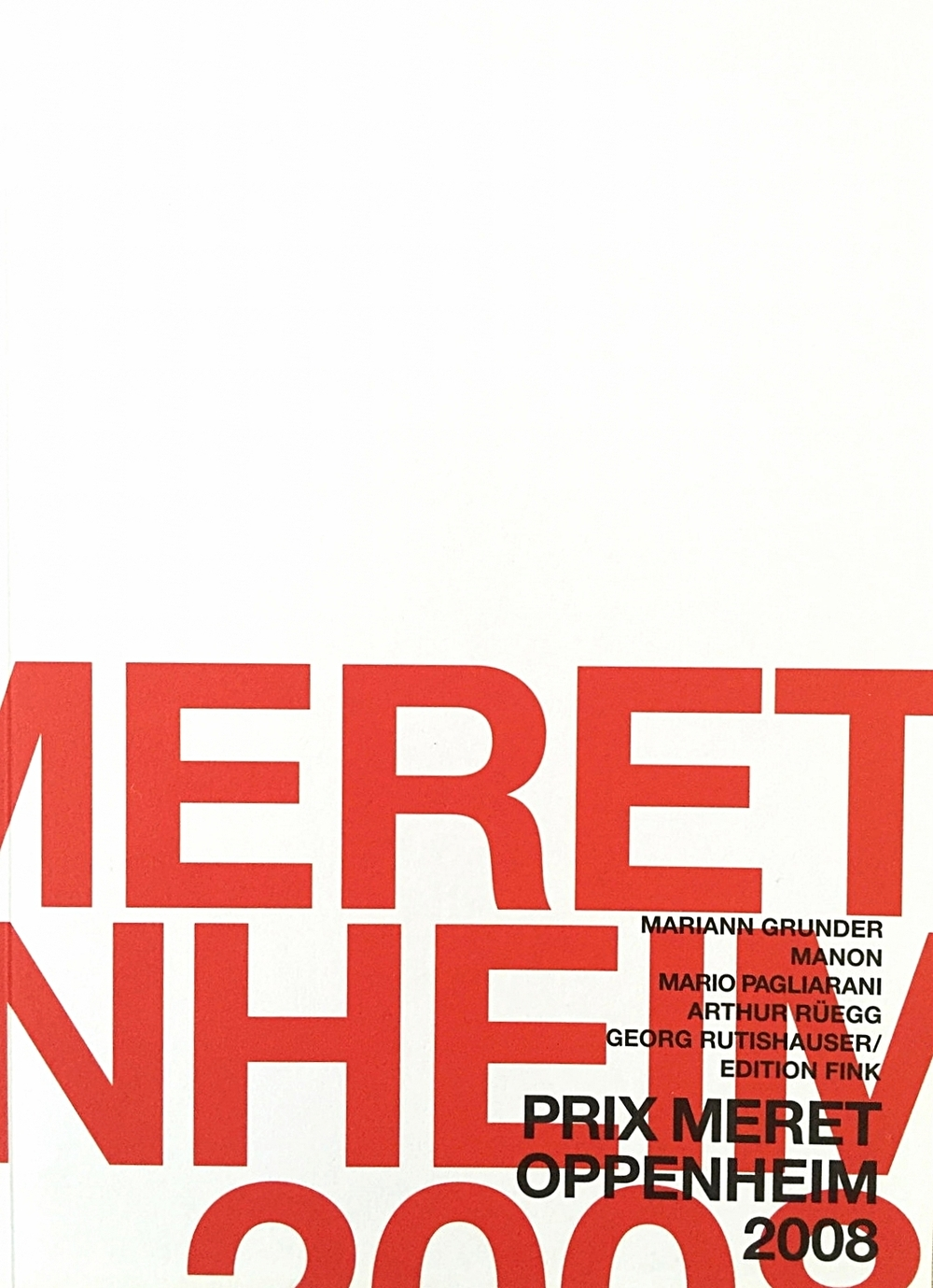 Prix Meret Oppenheim 2008