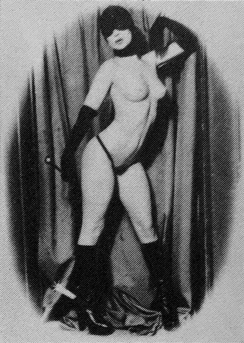 Lupenbild - Hommage à Molinier 1974