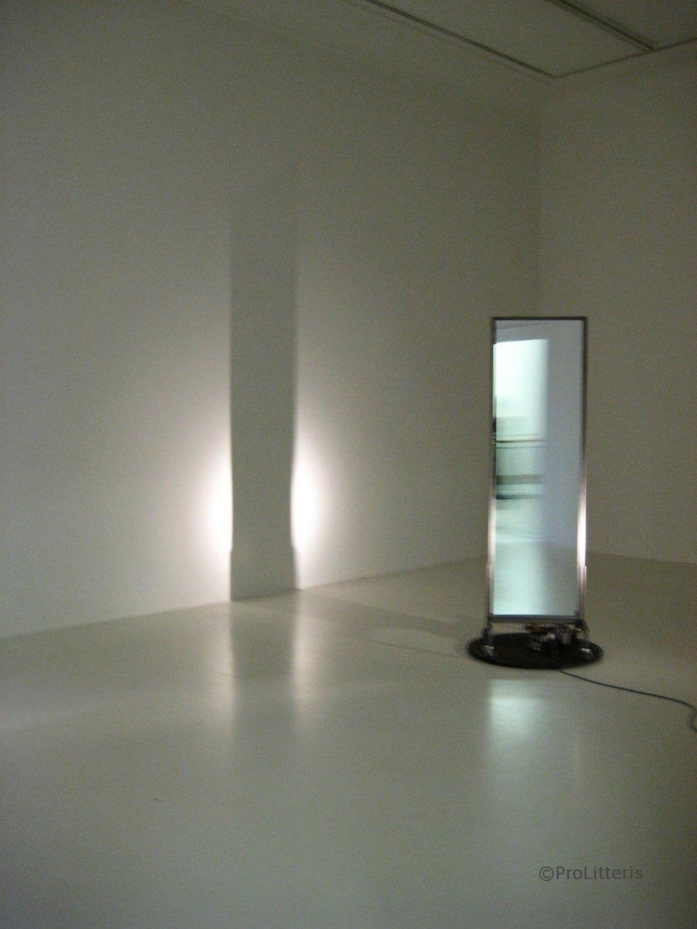 Drehender Spiegel, 2008