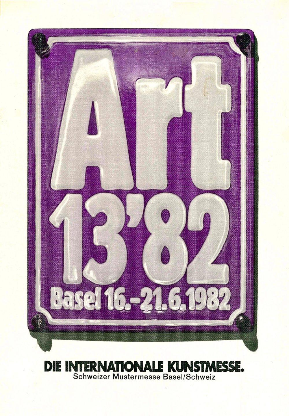 Art Basel 13'82