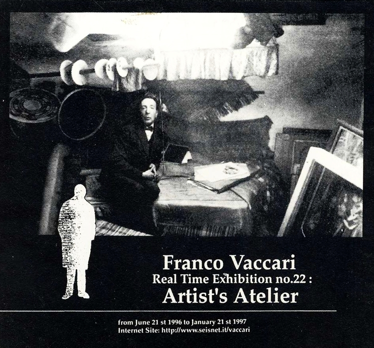 Franco Vaccari Real Time Exhibition no.22: 1997