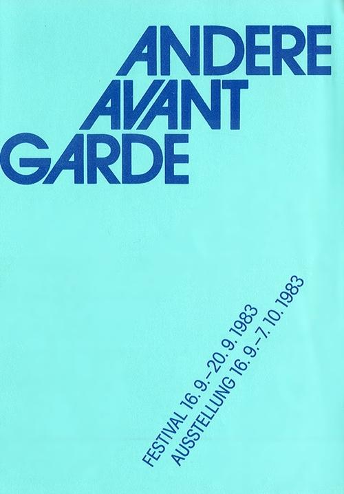 Andere Avant Garde 1983