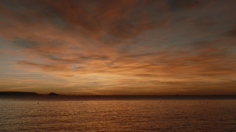 A Turner Sky  Kingsand Bay at Dusk.