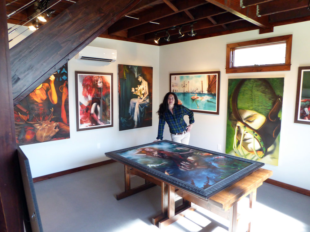 Suzanne Anan in her studio.