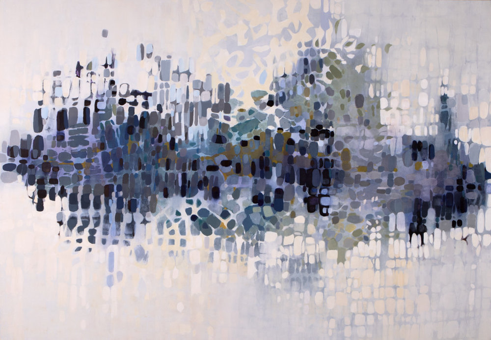 """Lowcountry Indigo,"" 61"" x 88"""