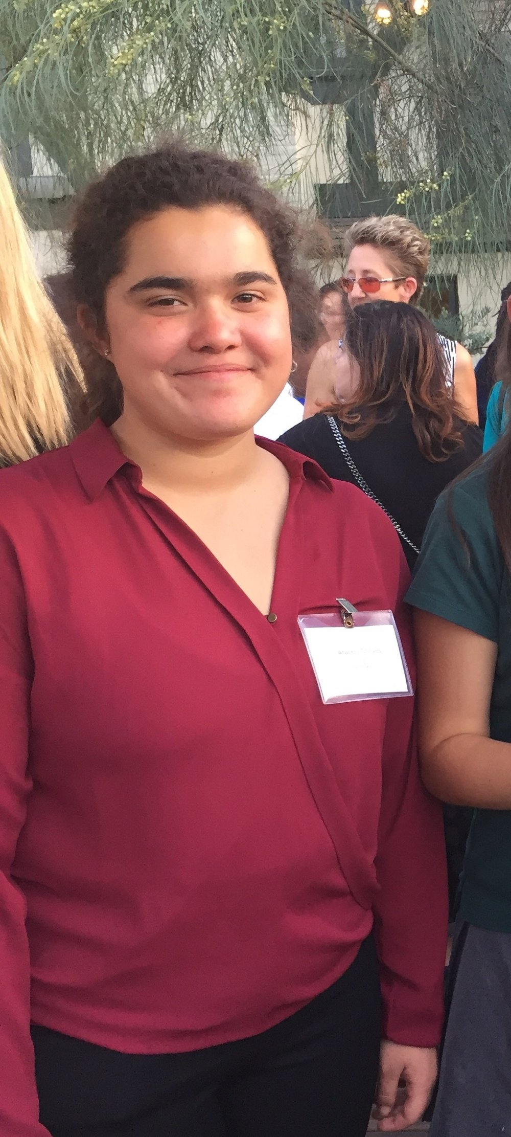Communications I'm Aracely Chavez, a senior at SFHS' Magnet Program. I am in charge of our team's blog and a part of the Solar Panel team. I plan on attending a four-year university, but I am still undecided on what I want to study.