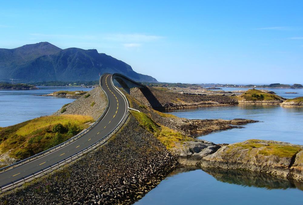 Source: shutterstock  Atlantic Ocean Road