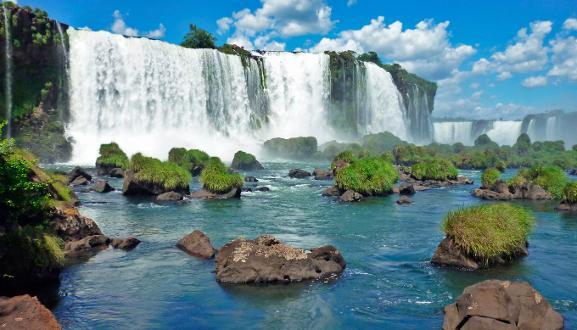 Las cataratas de Iguazu