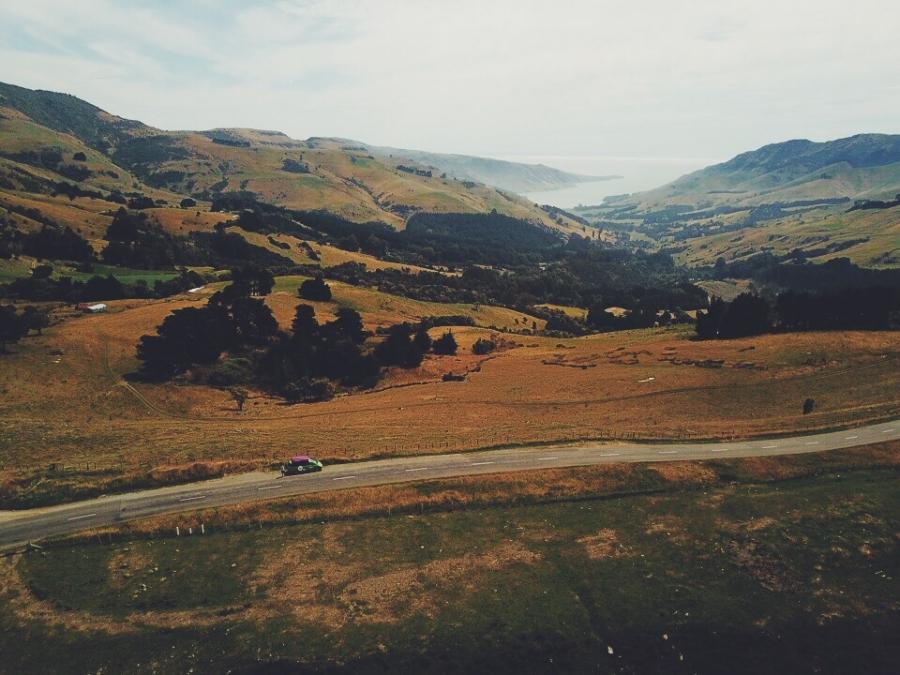 recorrer Nueva Zelanda en auto