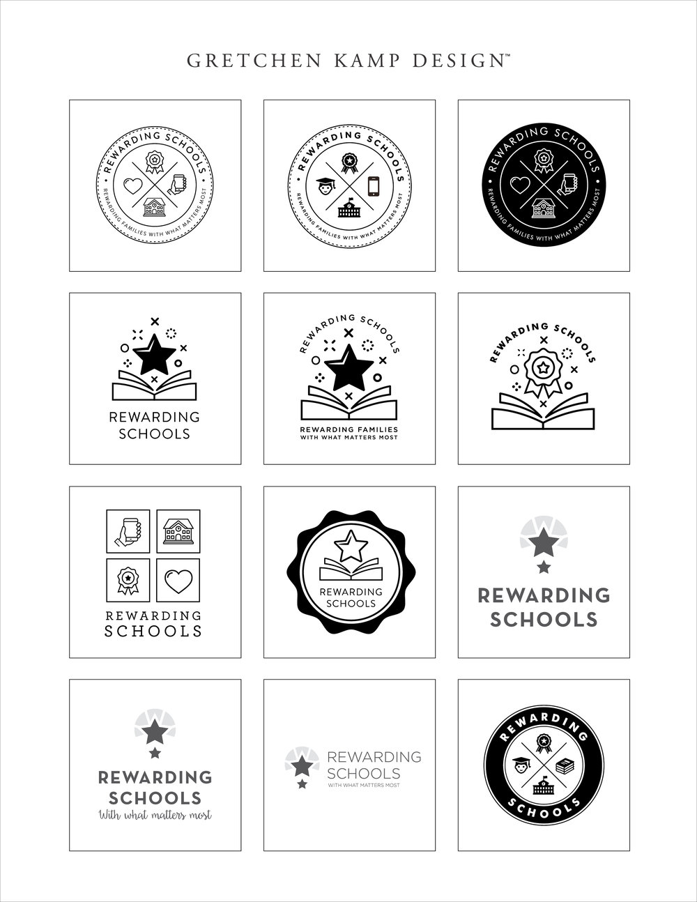 Rewarding Schools Logo Concepts