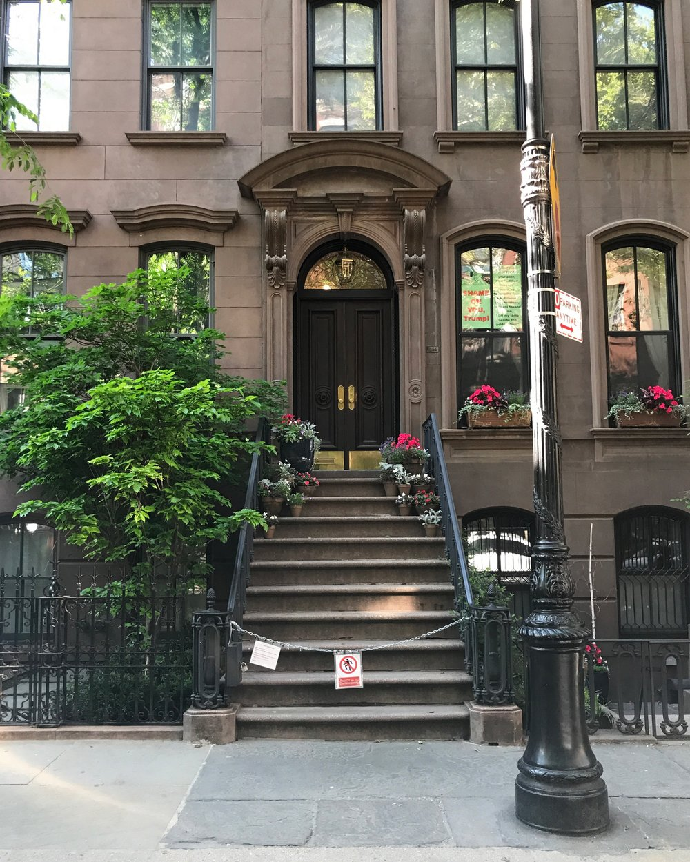 A trip to New York wouldn't be complete without a visit to Carrie Bradshaw's apartment at 66 Perry Street. My Mom and I also did the Sex & The City bus tour; I'm a die hard fan.