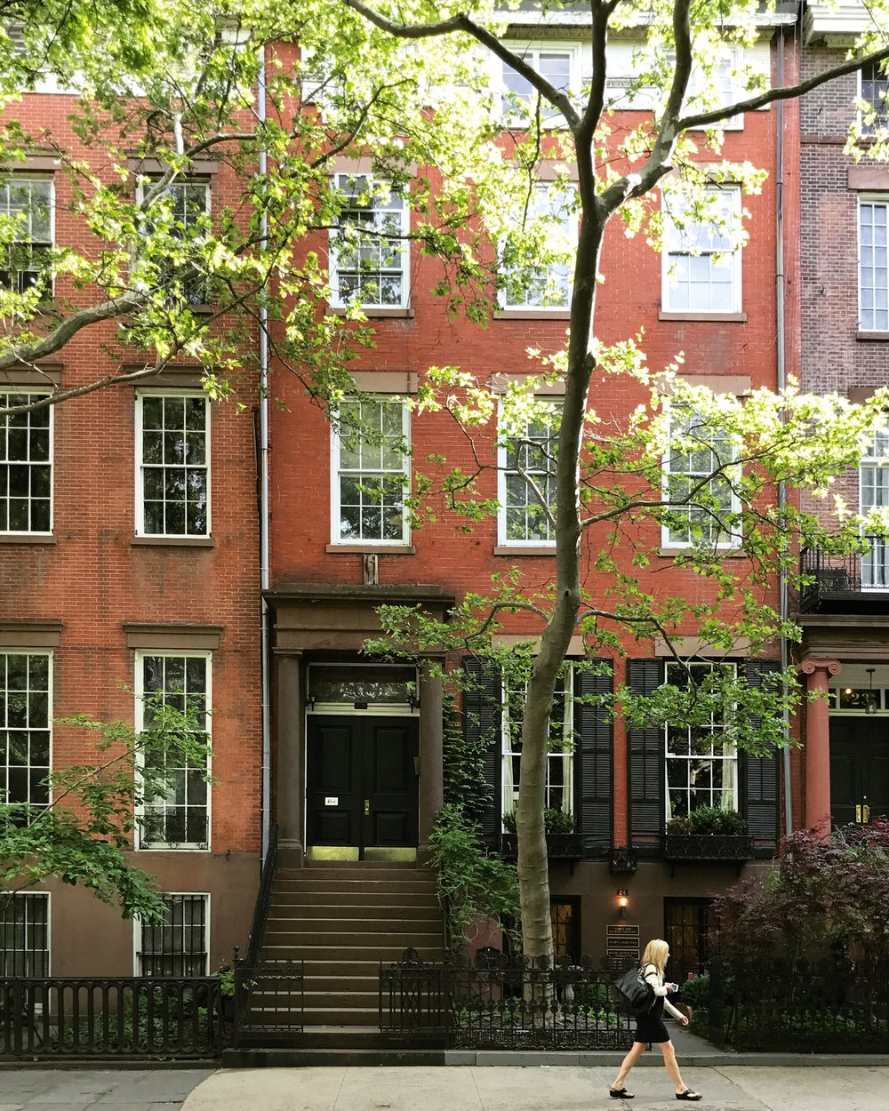 We stayed in the beautiful Greenwich Village neighborhood of Manhattan, right on the corner of Washington Square Park.