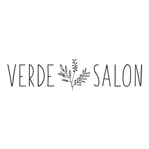 Verde Salon Logo by Gretchen Kamp