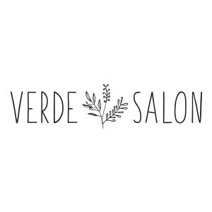 Verde Salon Logo by Gretchen Kamp