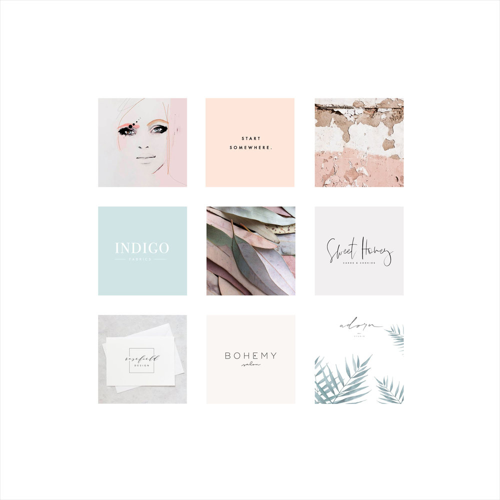 Le Chic Lash Boutique Mood Board