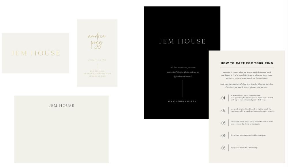 Jem House Stationery