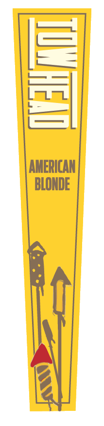 Towhead Tap Handle Decal