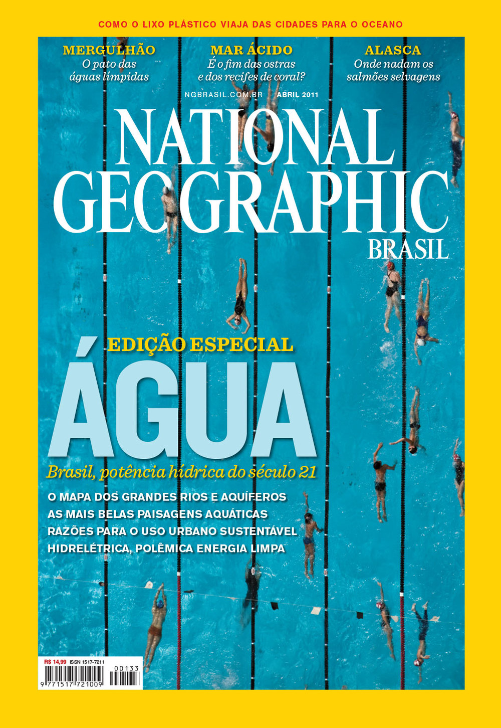 Photo editing and cover design | NG Brazil, April 2011. Photo: Cassio Vasconcellos