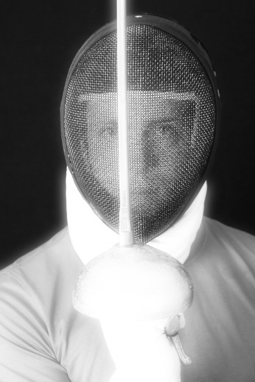 Redlands Fencer, Cameron Todd (US Navy Corpsman & Epee Fencer)