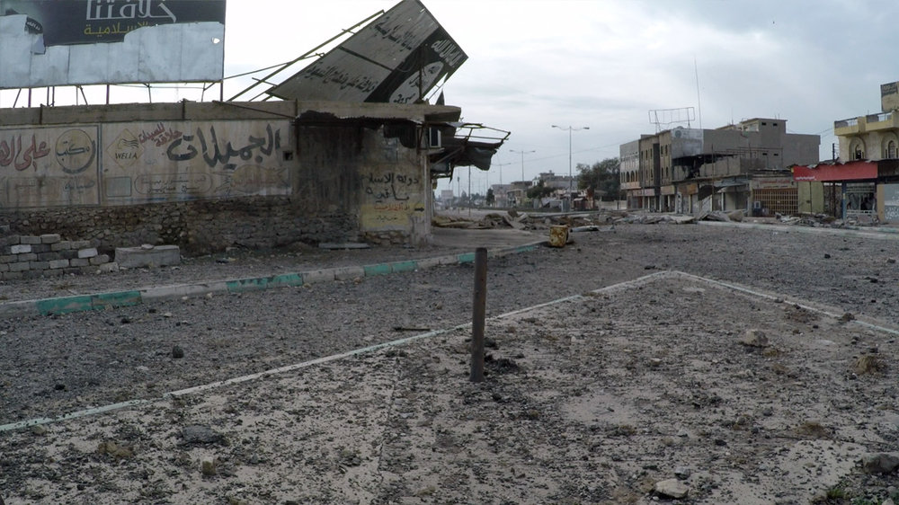 The front lines of East Mosul, just liberated from ISIS, bore the scars of heavy fighting.