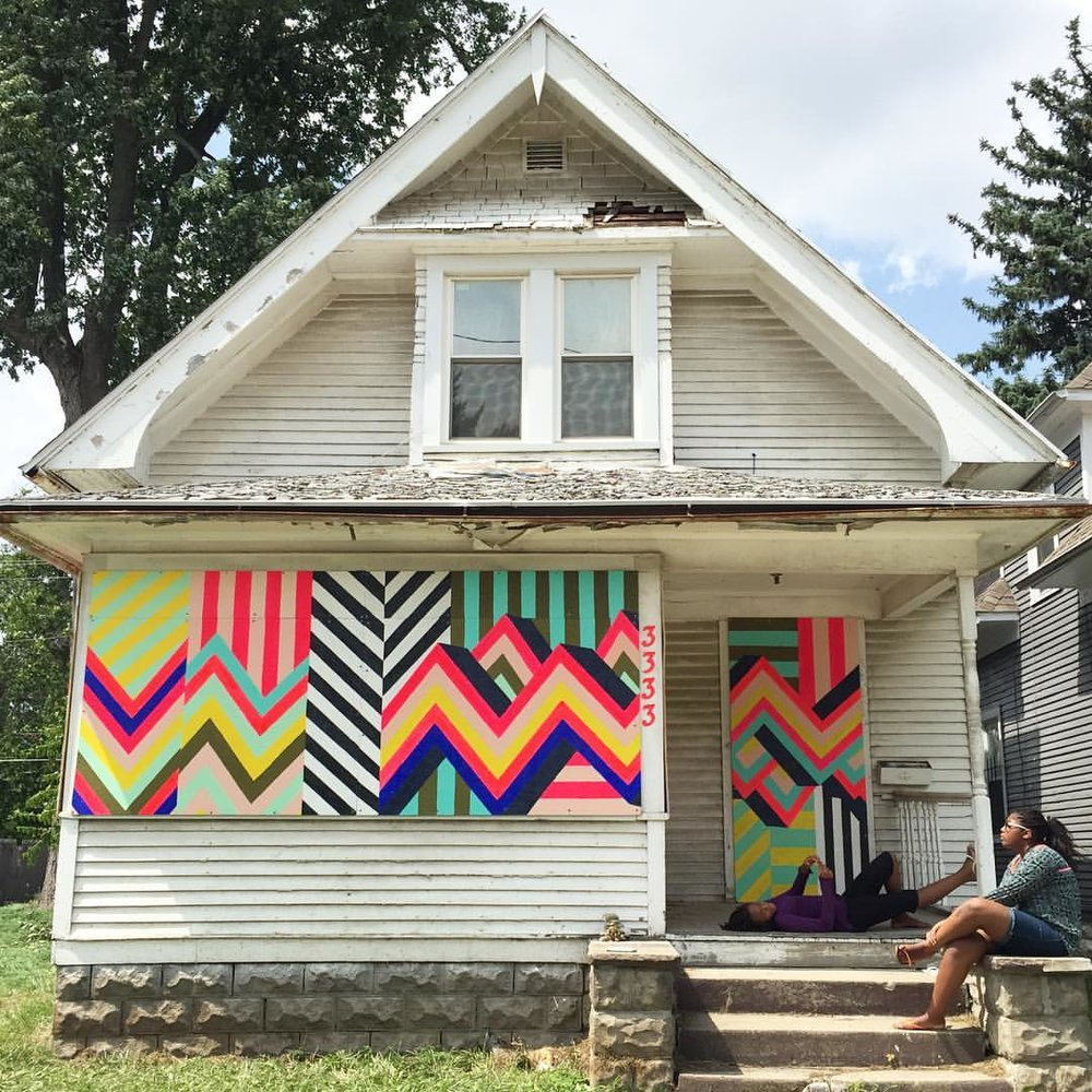 How to Board Up a House, 2016   3333 N. Detroit Avenue, Toledo, OH   The Arts Commission
