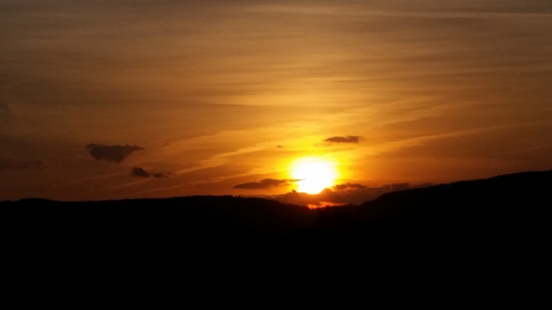Rockfish Gap Sunset