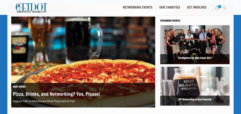 GETDOT home page.