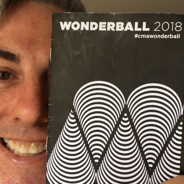 The program from Wonderball 2018.