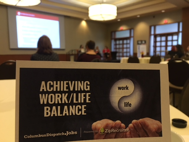 This morning's event at The Blackwell was all about understanding how organizations and people can set about to achieve work/life balance.